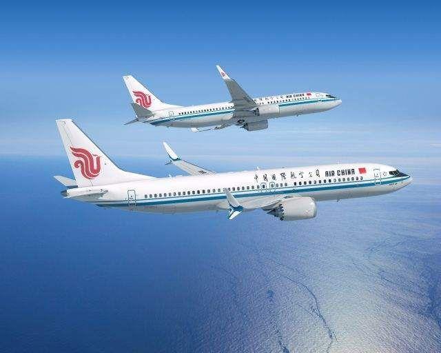 מטוסי בואינג 737NG (למעלה) ובואינג 737MAX שאייר צ'יינה תרכוש. צילום ואיור: בואינג