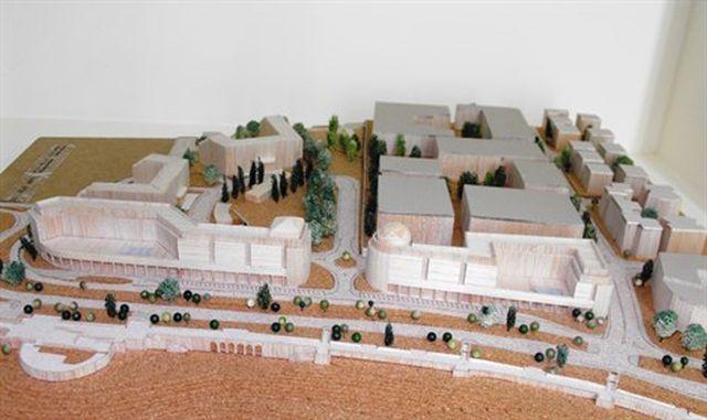 הדמיית הבנייה במחם הרכס בירושלים. הדמיה: משרד התיירות