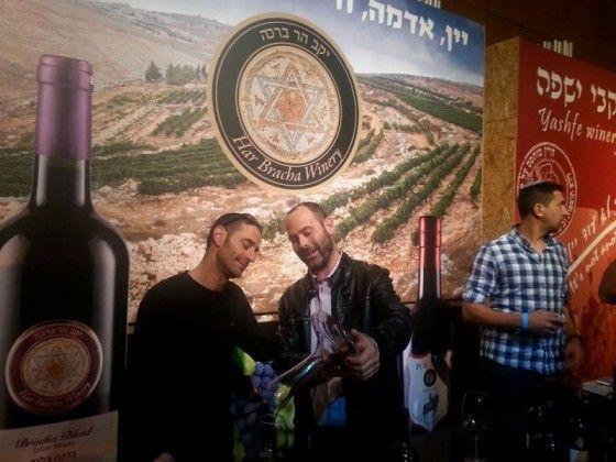 שפע טעימות בפסטיבל היין בחיפה