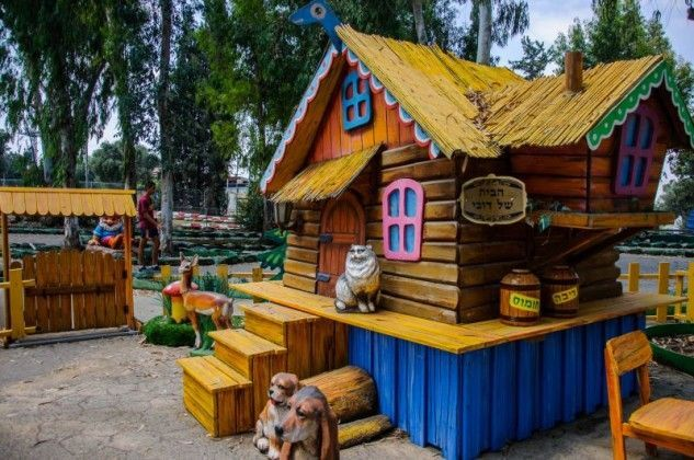 פורים שמח לילדים בפארק נחשונית