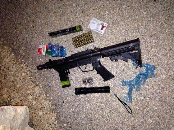 נשק מוסלק ברכב נעצר בכניסה לשטחי ישראל,