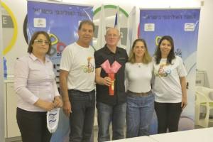 הוועד האולימפי במפגש של שלום עם תלמידי סכנין