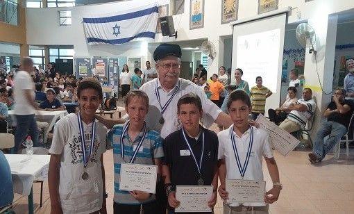 תלמידי קרני שומרון לארצית באולימפיאדת החשיבה