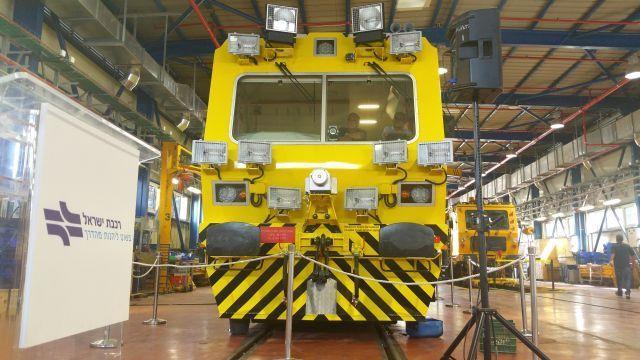 קרונית המעבדה החדשה. צילום: רכבת ישראל