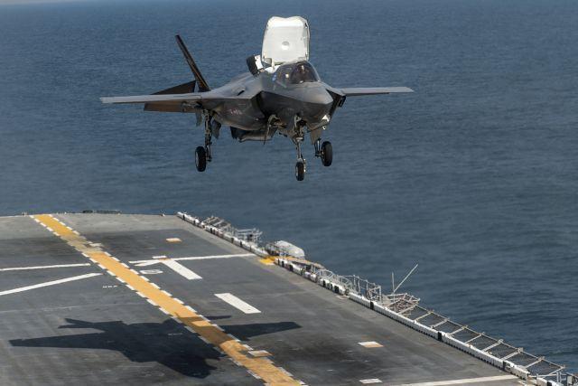 הוכשרה טייסת מבצעית ראשונה של מטוסי  F-35B