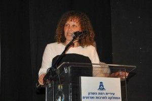 ראשת העיר רמת השרון שירה אבין צילום א.ס.יפ ערוץ 3.