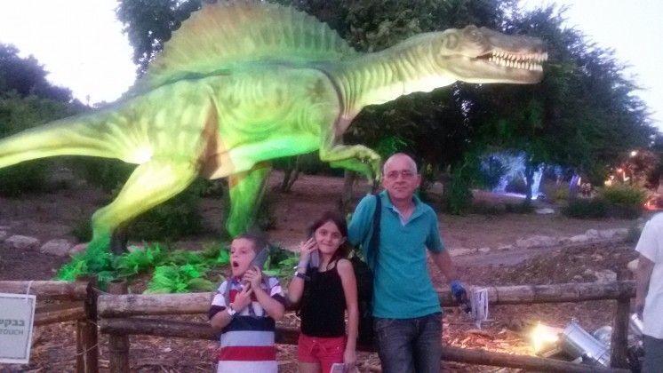 ממלכת הדינוזאורים מסע הרפתקאות משפחתי