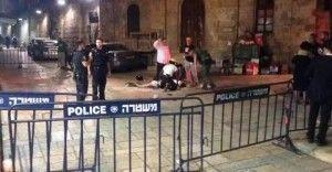 שוטרים בפיגוע דקירה בירושלים