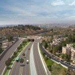 החלו עבודות בשער הכניסה הדרומי החדש לירושלים
