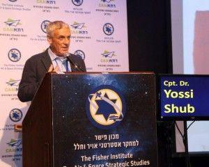"""קברניט ד""""ר יוסי שוב, נשיא איגוד הטייסים הישראלי. צילום: סיון פרג'"""