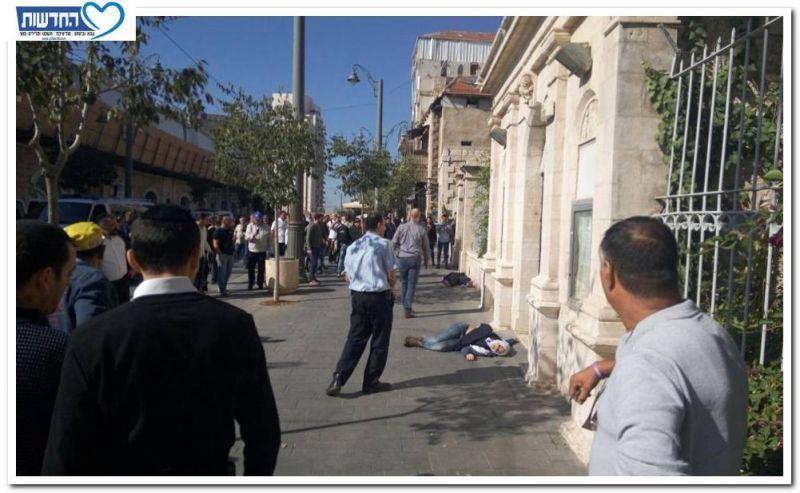 שני פצועים בירושלים בפיגוע דקירה
