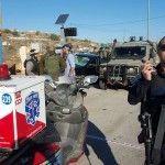 שלושה ישראלים נפגעו בפיגוע בצומת תפוח