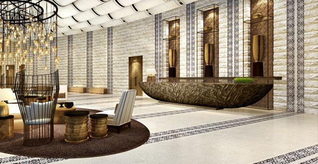 העיצוב הירושלמי המזרחי המיוחד של מלון אוריינט  החדש של רשת ישרוטל בירושלים. צילום הדמיה: סטודיו 84