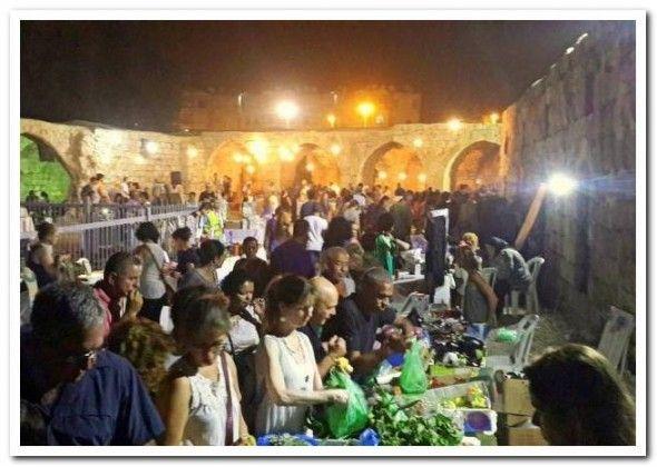 לילה לבן בלוד העתיקה פסטיבל של אוכל ואומנות