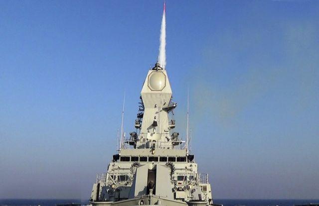 """ניסוי ברק 8 בהודו אתמול. צילום: יח""""צ"""