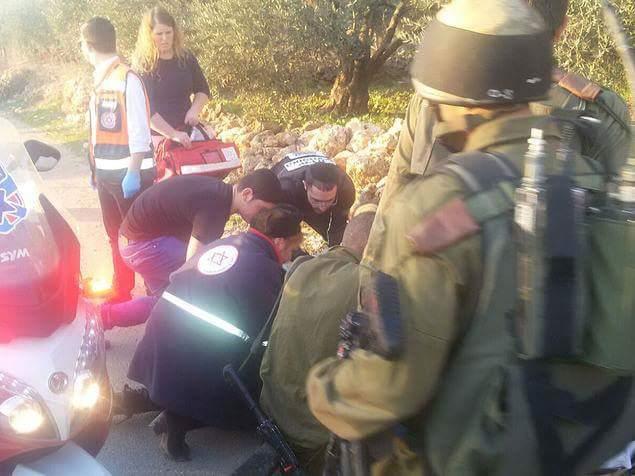 פיגוע הדריסה ,סמוך לבית אריה צילום: חדשות לפני כולם