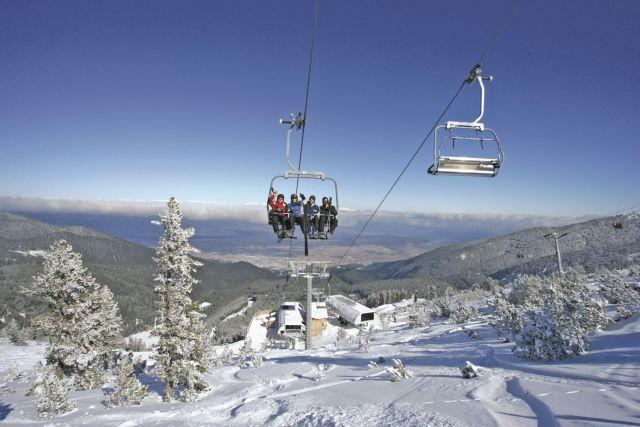 """מעלית באתר הסקי בבנסקו בולגריה. צילום: יח""""צ"""