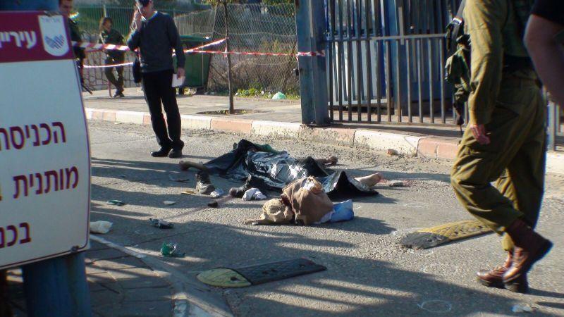 הפיגוע באריאל מערב, מחבל הרוג