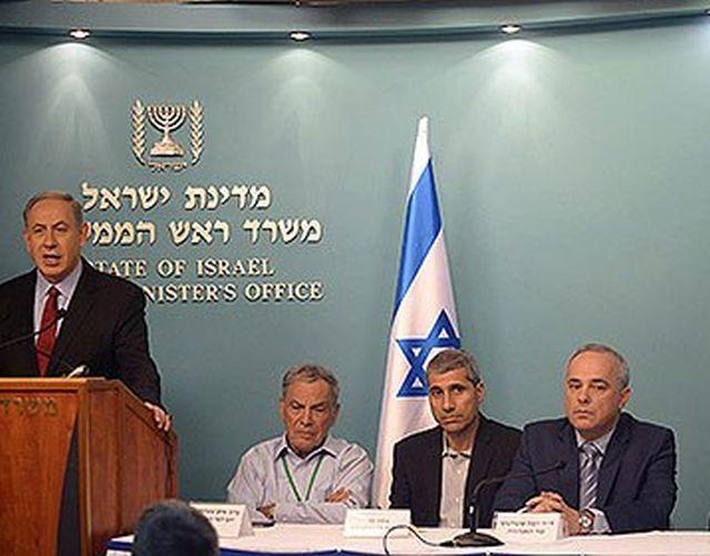 """ראש הממשלה עתיד לחתום על מתווה הגז צילום:עמוס בן גרשום,לע""""מ"""