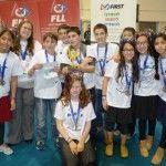 גביע הצטיינות לנבחרת תלמידי אריאל ברובוטיקה