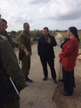 כביש אבני חפץ ייסגר לתנועת פלסטינים