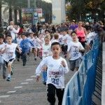 """מיני מרתון - מסלול הילדים של """"מרתון סמסונג תל-אביב"""""""