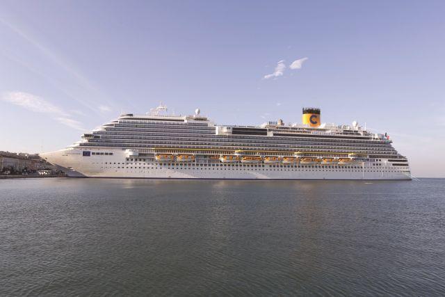 """האוניה Costa-Diadema. צילום יח""""צ"""