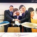 הסכם משולש: דלתא- KLM – ג'ט איירווייס