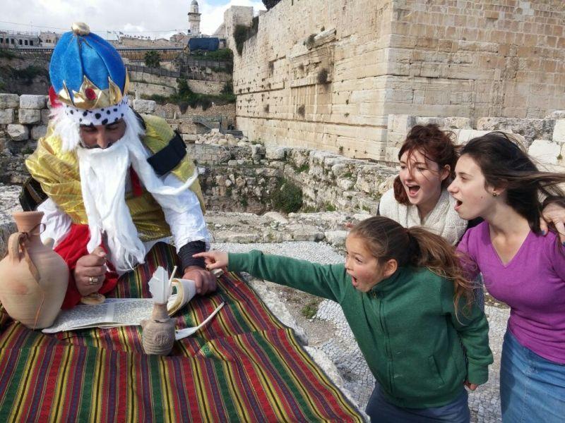 פסח באתרי הרובע היהודי -מסע בעקבות חזקיהו המלך