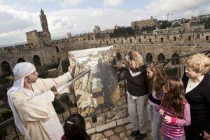 פסח במגדל דוד. צילום יחצ