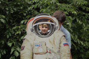"""הפסטיבל למדע, טכנולוגיה ואמנות עתידנית. צילם יח""""צ"""