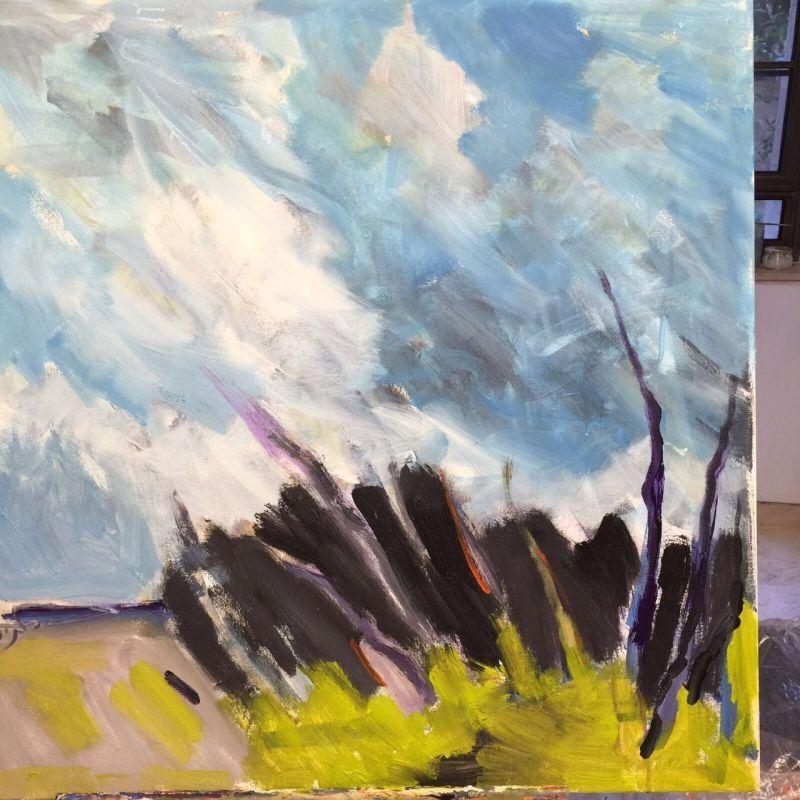 """""""נוף במעוף"""" - תערוכה חדשה בגלריה החברתית בן עמי ביפו"""