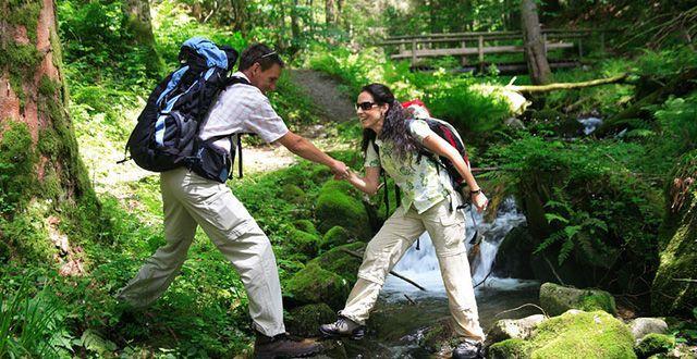 טרקים ביער השחור. שנת 2016 הוכרזה על ידי לשכת התיירות הגרמנית כשנת חופשות בטבע. צילום: לשכת התיירות הגרמנית