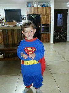 כפיר בן ה 3 לפני שנפגע מהלישמני