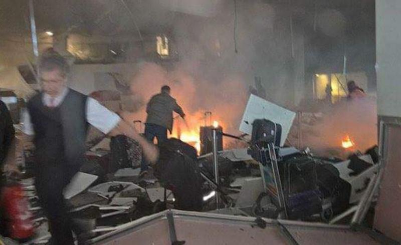 פיגוע בשדה התעופה בטורקיה