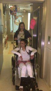 עדן דדון, פצועת הפיגוע באוטובוס קו 12, שוחררה מבית החולים