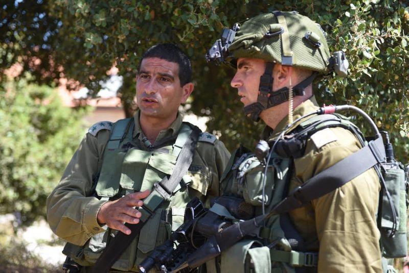 """חיילים בזירת הפיגוע צילום: דובר צה""""ל"""