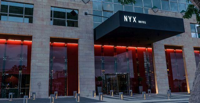 """הכניסה למלון NYX החדש. צילום יח""""צ"""