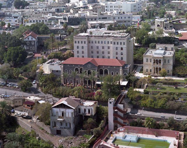 המלון הסקוטי ומלון ויסטה. צילום: דוברות והסברה עיריית טבריה
