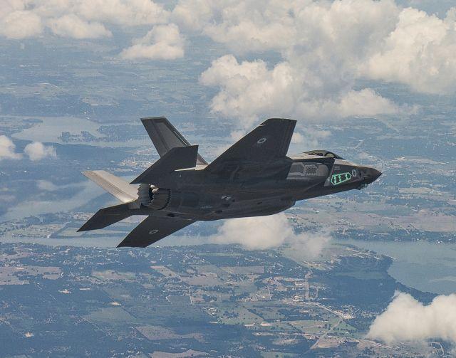 מטוס אדיר באוויר. צילום: לוקהיד מרטין