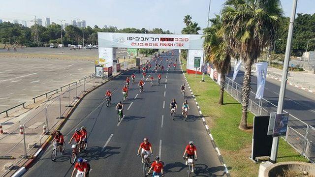 היום באירוע האופניים סובב טורקי תל אביב - יפו הגדוץ. צילום: תמי לוריא, ראנר סקאנר