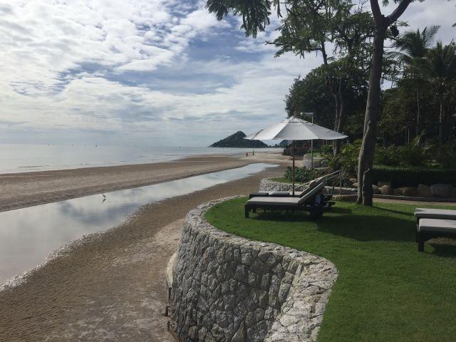 """חוף ים בהואה הין. צילום יח""""צ"""