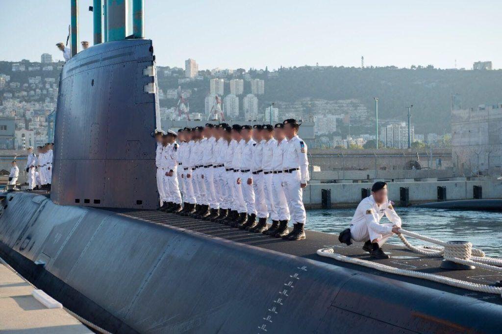 טקס סיום קורס צוללן מחזורבבסיס חיפה של זרוע הים
