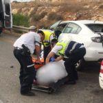 הרוגה ושני פצועים בתאונה בסמוך לאורנית