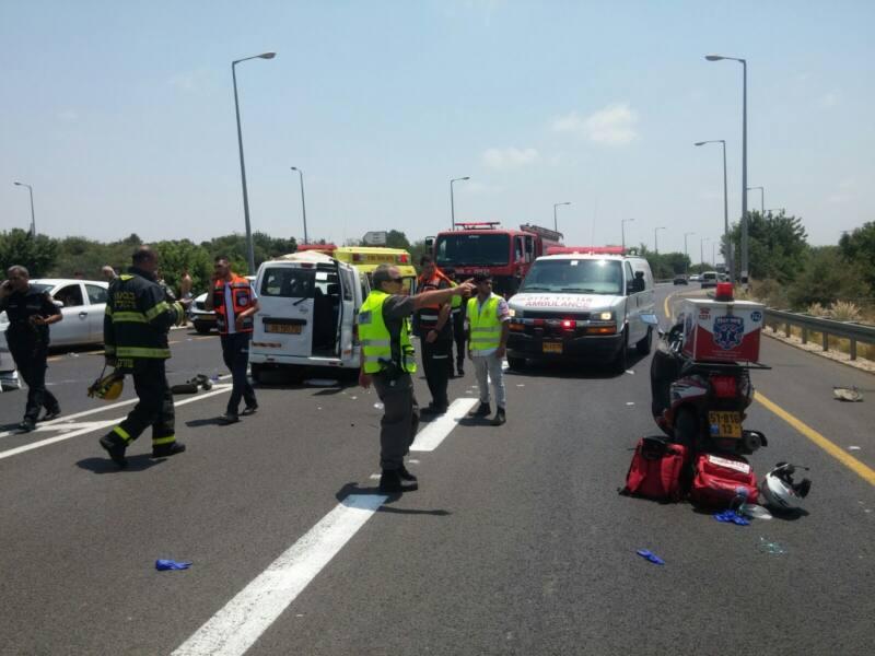 תאונה קטלנית - ילד בן שש ואביו נהרגו