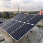 מעתה חשמל סולארי בעזה