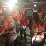 תרגיל בטיחות והצלה לקראת פתיחת תחנת רכבת כרמיאל