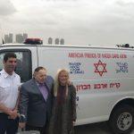אמבולנסים ממוגני ירי חדשים ביהודה ושומרון