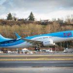 קבוצת TUI קיבלה את מטוס 737MAX 8 החדיש של בואינג