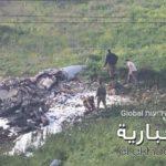"""מטוס  קרב ישראלי הופל  ע""""י טיל נגד מטוסים סורי"""